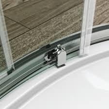 clarity 6mm single quadrant shower enclosure victoriaplum com