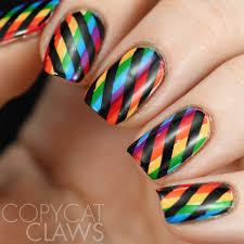 rainbow black friday copycat claws nail crazies unite rainbow