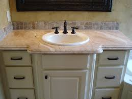 Bathroom Vanity Countertops Ideas Bathroom Enchanting Antique White Paint Rectangle Wooden