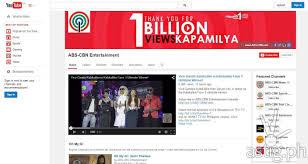 ABS CBN channel hits 1 Billion views