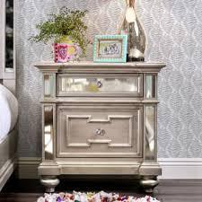 silver nightstands u0026 bedside tables for less overstock com