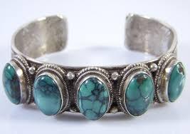 bracelet silver turquoise images Handmade tibetan sterling silver turquoise bracelet