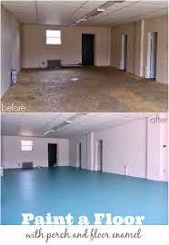 diy painted particle board floor teal painted flooring what