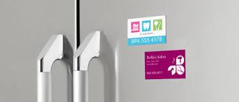 Magnetic Business Card Holder Custom Business Magnets Vistaprint