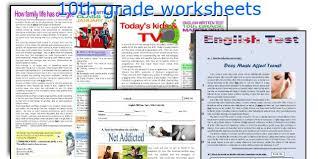english teaching worksheets 10th grade