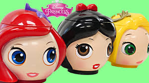 disney princess teapot surprise eggs peppa pig shopkins mlp lps