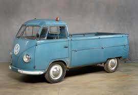 volkswagen pickup 1953 volkswagen transporter 3 4 ton dropside pickup truck this
