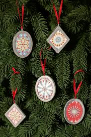 christmas ornaments paper christmas tree ornaments diy christmas