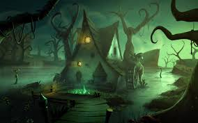 halloween 4k background 35 swamp hd wallpapers backgrounds wallpaper abyss