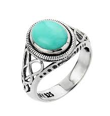celtic ring celtic ring white gold knot turquoise ring at irishshop
