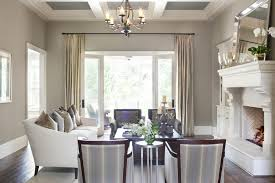 Dining Room White Chairs by Decor Transitional Dining Room Using Upholstered White Chairs And