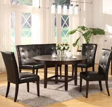 Dining Room Sets 8 Chairs Modus Bossa 54 Inch Round Dining Table In Dark Chocolate Beyond