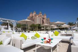 nasimi beach restaurant in dubai atlantis the palm