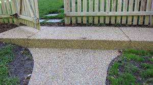Exposed Aggregate Patio Pictures by Stamped Concrete Or Exposed Aggregate
