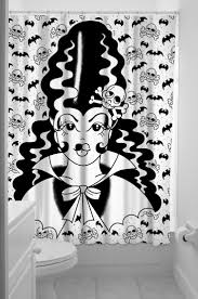 Zombie Pinup Shower Curtain by 12 Best Frankestein Bride Images On Pinterest Bride Of