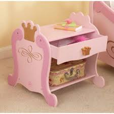 kidkraft princess table stool side table