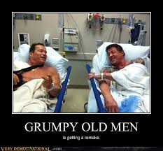 Grumpy Man Meme - grumpy old men very demotivational demotivational posters
