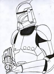 coloring pages star wars clone trooper coloring pages mycoloring