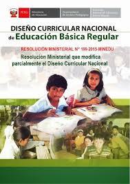 199 2015 minedu matriz de teresa clotilde ojeda sánchez diseño curricular nacional modificado