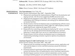 Senior System Administrator Resume Sample Download Windows Server Administrator Resume Sample