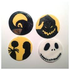 nightmare before christmas cupcake toppers the nightmare before christmas cupcake toppers nightmare before