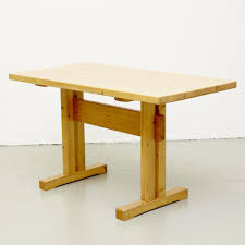 pine table by charlotte perriand for les arcs for sale at pamono