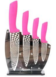 pink knife set home design