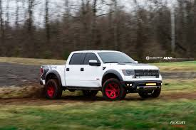 Ford Raptor Truck Specifications - ford raptor svt adv6 m v2 sl wheels brushed gloss red adv 1