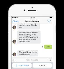 invite friends to bot experiences on kik