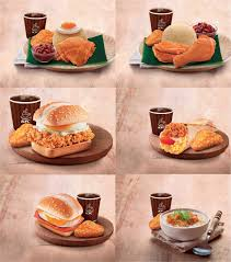 lexus biscuit malaysia delicious new breakfast range kfc malaysia food malaysia