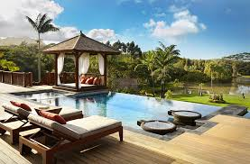 Beautiful Pool Backyards Stylish And Fashionable Outdoor Beds For The Ultimate Backyard Lounge