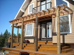 other design amazing front porch decoration using solid oak wood