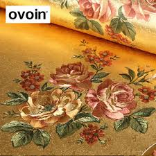 roses wholesale wholesale flower gold foil wallpaper gold embossed background
