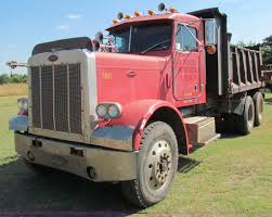 peterbilt dump truck 1984 peterbilt dump truck item g4191 sold october 31 co