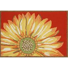 Yellow Outdoor Rug Sunflower Indoor Outdoor Rug Sturbridge Yankee Workshop