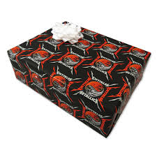skull wrapping paper skulls wrapping paper metallica