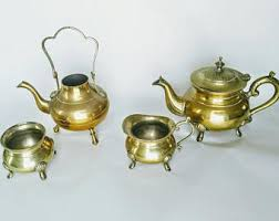 vintage tea set antique tea set etsy