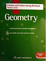 know it notebook teacher u0027s guide for holt geometry holt