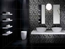 black and white bathroom tile design ideas a bathroom black white you can be proud of bathroom accessories