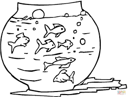 fresh fish tank coloring page 60 about remodel line drawings with