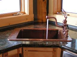 Brown Kitchen Sink Corner Kitchen Sink Design Ideas Remodel For Your Home