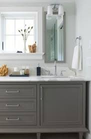 Bathrooms With White Cabinets The Psychology Of Why Gray Kitchen Cabinets Are So Popular Home