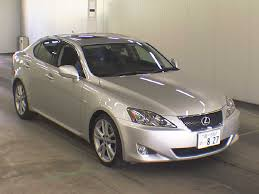 lexus used car australia 2007 lexus is250 version s japanese used cars auction online