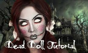 dead doll makeup tutorial youtube