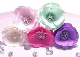 Flower Decorations For Hair Paper Brooch Peonies Peony Cake Flowers Pearl Brooch Paper