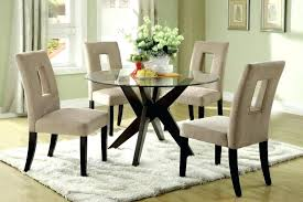 glass top dining table set 6 chairs glass dining sets 6 chairs glass dinette sets unique kitchen table