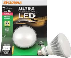Flood Light Led Bulb by Sylvania Led Dimmable Soft White Flood Lamp Br30 Medium Base 120v