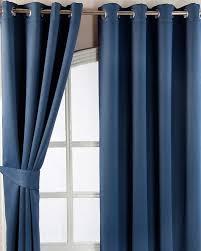 Navy Blue Curtains Navy Blue Herringbone Chevron Blackout Thermal Curtains Eyelet