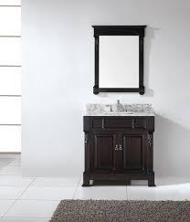 virtu usa gs 4036 wmsq dw 001 huntshire 36 in bathroom vanity set