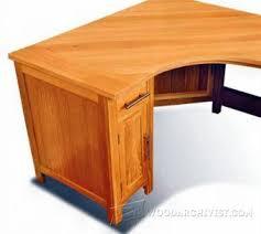 Wood Corner Computer Desk Plans by Computer Desk Plans U2022 Woodarchivist